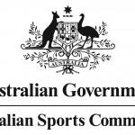 Australian Sports Commission Stacked Logo